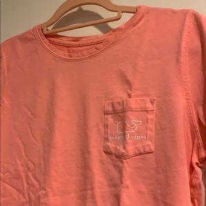 Vineyard Vines Classic T-Shirt Coral